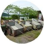 田貫湖キャンプ場のリアカー