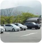 田貫湖キャンプ場の駐車場