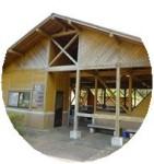 田貫湖キャンプ場の炊飯棟